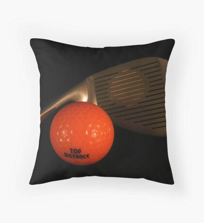 Hole in one? Throw Pillow