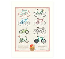 Bicycle Season Art Print