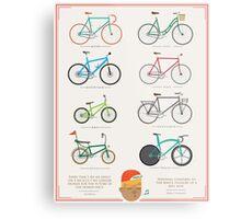 Bicycle Season Metal Print
