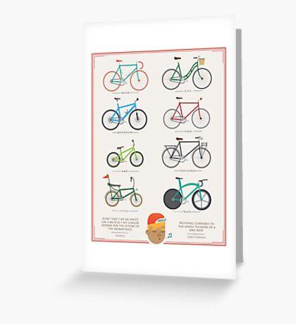 Bicycle Season Greeting Card