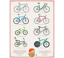 Bicycle Season Photographic Print