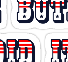 The Butler Did It - New England Patriots Malcolm Butler 21 Sticker
