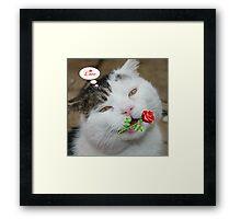 Butch Valentines Framed Print
