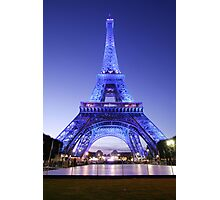 the eifel tower Photographic Print