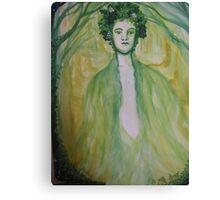 Greenman, Youth... Canvas Print