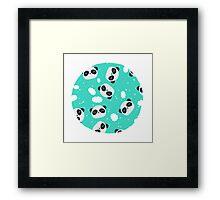 Happy Pandas Framed Print
