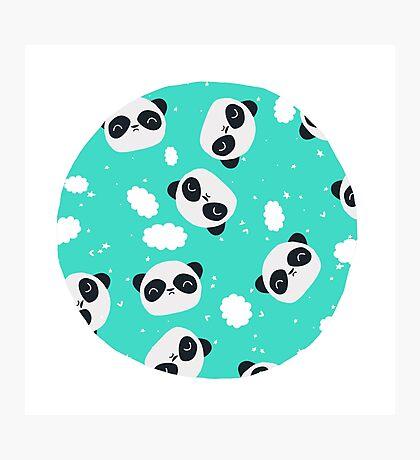 Happy Pandas Photographic Print