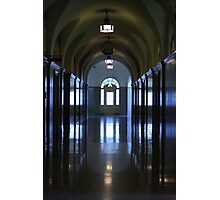 Reflected Hall Photographic Print
