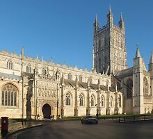 Gloucester Cathedral by Yampimon