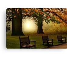 Waiting for somebody  Canvas Print