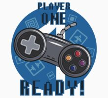 Player One One Piece - Short Sleeve