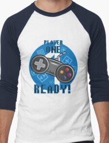 Player One Men's Baseball ¾ T-Shirt