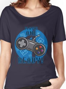 Player One Women's Relaxed Fit T-Shirt