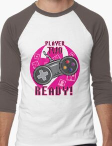 Player Two Men's Baseball ¾ T-Shirt