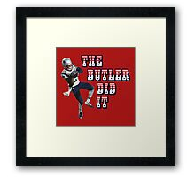 The Butler Did It - New England Patriots Malcolm Butler 21 Framed Print