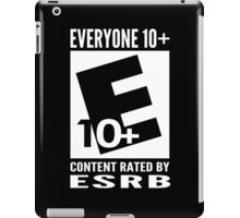 Everyone Rating iPad Case/Skin