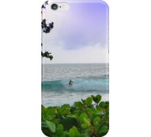 Surfer Dude In Bocas Del Toro - Panama iPhone Case/Skin
