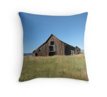 Old Rustic Barn  Throw Pillow