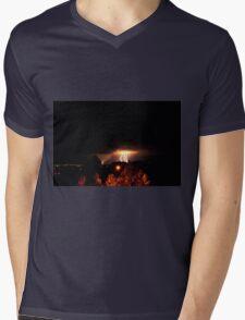 Alberta Lightning IV Mens V-Neck T-Shirt