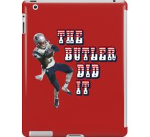 The Butler Did It - New England Patriots Malcolm Butler 21 iPad Case/Skin