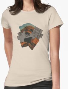 The Void 4 - collage Womens Fitted T-Shirt