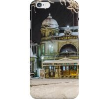 Buxton Opera House in the snow iPhone Case/Skin