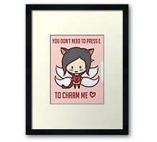 Ahri - Valentine's Day [ League Of Legends ] Framed Print