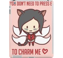 Ahri - Valentine's Day [ League Of Legends ] iPad Case/Skin