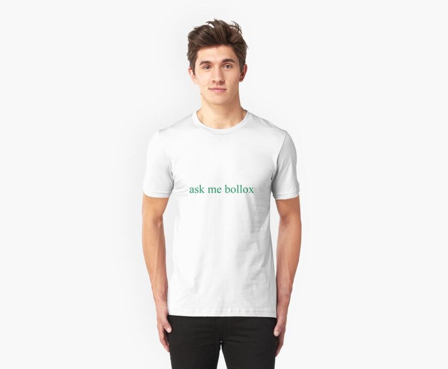 ask me bollox by eejitdesign
