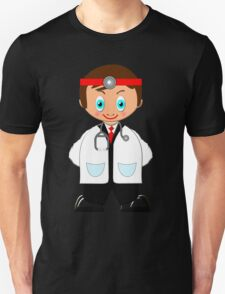 Toon Boy No18 Emergency Doctor at the Hospital Unisex T-Shirt