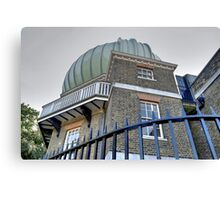 Greenwich Observatory Canvas Print