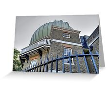 Greenwich Observatory Greeting Card