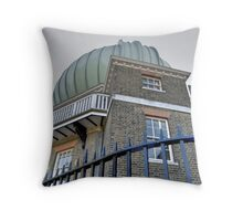 Greenwich Observatory Throw Pillow