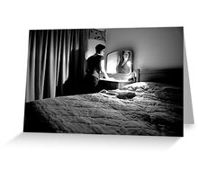 sleeping with ghosts Greeting Card