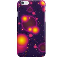 Colorful Pink Purple and Yellow Bubble Abstract iPhone Case/Skin