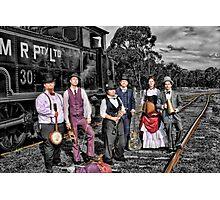 Mojo & The Train 2 Photographic Print