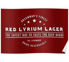 Dragon Age - Red Lyrium Lager Poster