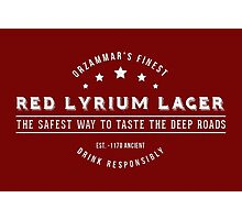 Dragon Age - Red Lyrium Lager Photographic Print