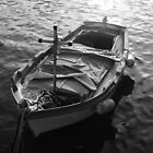 Guess the Co-Pilot. A Fisherman Boat in Mondello, Sicily 2012 by Igor Pozdnyakov