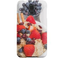 Oatmeal and Berries Samsung Galaxy Case/Skin