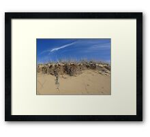 Dune, and Sky Framed Print