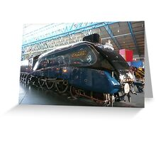 Mallard Steam Engine Greeting Card