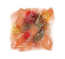 Imaginary shapes Photographic Print