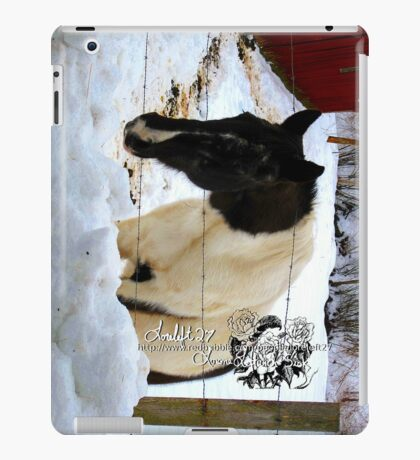 will i ever see the green stuff again iPad Case/Skin