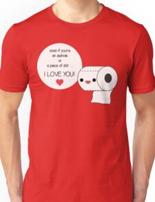 Paper-chan loves you Unisex T-Shirt