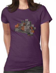 The Void 5 collage Womens Fitted T-Shirt