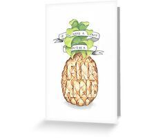 Love Letterings Greeting Card
