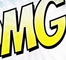 Comic OMG! Sticker