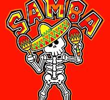 Samba Bones by SquareDog