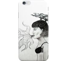 the story of antler girl iPhone Case/Skin